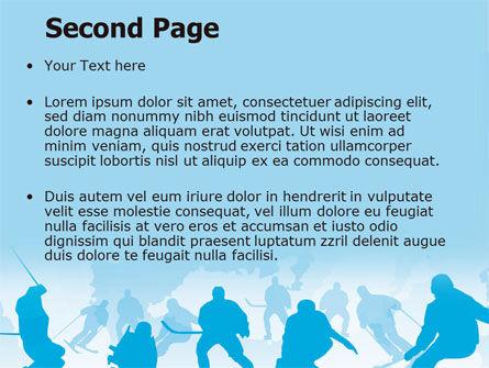 Winter Olympiad PowerPoint Template, Slide 2, 07483, Sports — PoweredTemplate.com