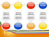 Olympic Cresset PowerPoint Template#18