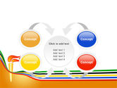 Olympic Cresset PowerPoint Template#6