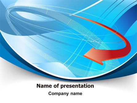 Abstract Pointer Design PowerPoint Template, 07490, Business — PoweredTemplate.com