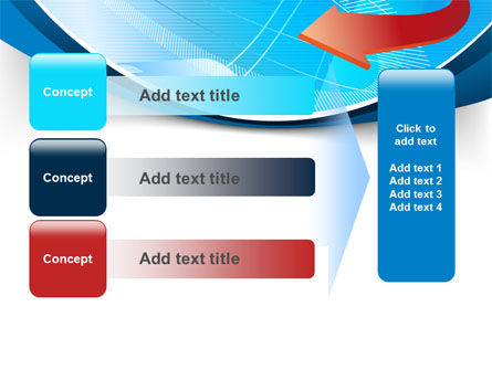 Abstract Pointer Design PowerPoint Template Slide 12