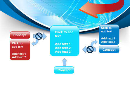 Abstract Pointer Design PowerPoint Template Slide 13