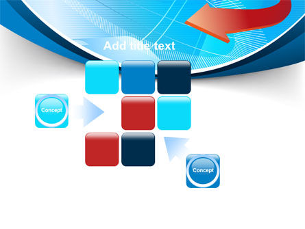 Abstract Pointer Design PowerPoint Template Slide 16