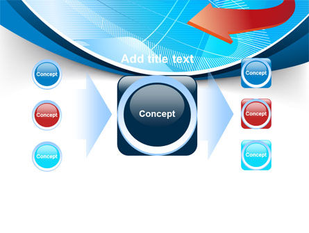 Abstract Pointer Design PowerPoint Template Slide 17