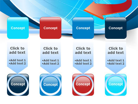 Abstract Pointer Design PowerPoint Template Slide 18
