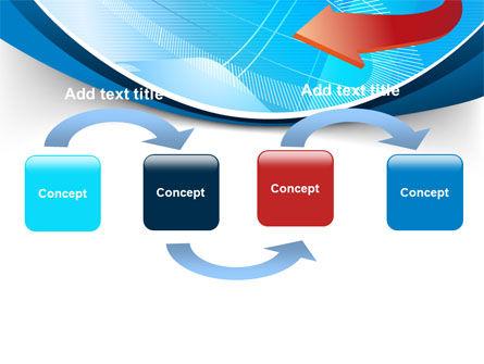 Abstract Pointer Design PowerPoint Template, Slide 4, 07490, Business — PoweredTemplate.com