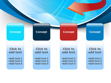 Abstract Pointer Design PowerPoint Template Slide 5