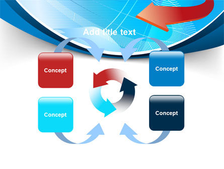 Abstract Pointer Design PowerPoint Template Slide 6
