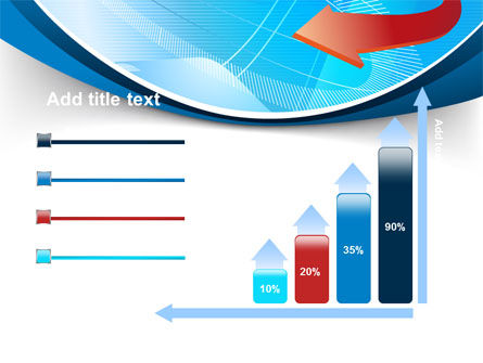 Abstract Pointer Design PowerPoint Template Slide 8