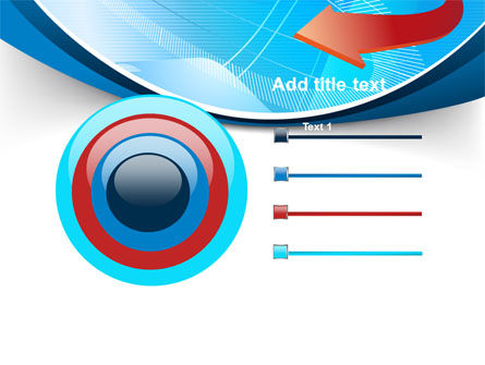 Abstract Pointer Design PowerPoint Template Slide 9