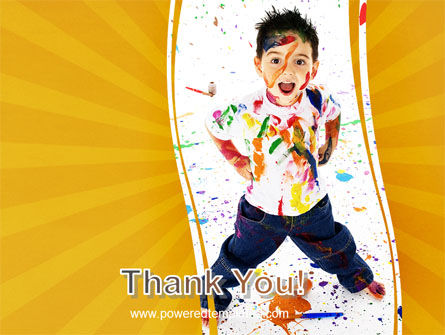 Madcap Kid PowerPoint Template Slide 20