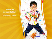 Careers/Industry: Madcap Kid PowerPoint Template #07491