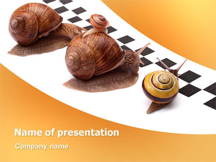 Races PowerPoint Template, 07493, Consulting — PoweredTemplate.com