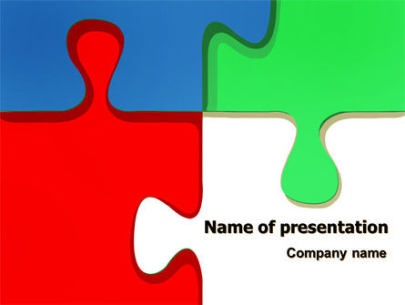 Color Puzzle PowerPoint Template, 07494, Consulting — PoweredTemplate.com