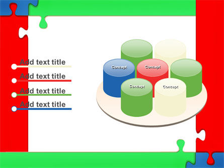 Color Puzzle PowerPoint Template Slide 12