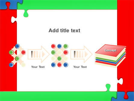 Color Puzzle PowerPoint Template Slide 9