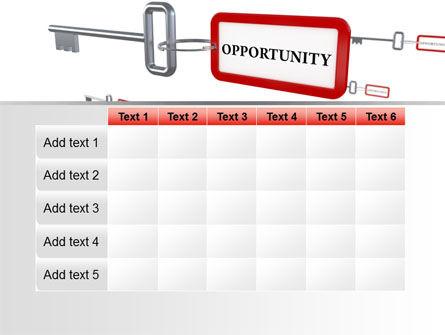 Key Opportunity PowerPoint Template Slide 15