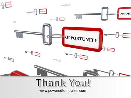 Key Opportunity PowerPoint Template Slide 20