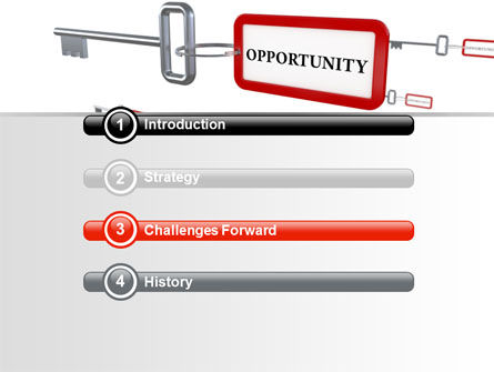 Key Opportunity PowerPoint Template, Slide 3, 07495, Consulting — PoweredTemplate.com