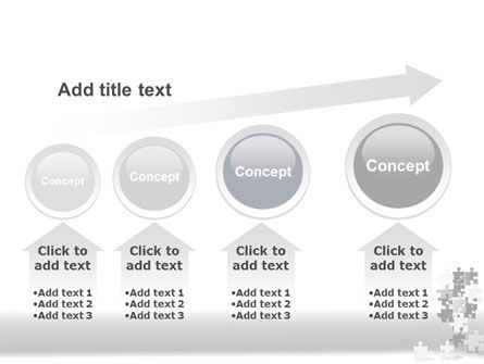 Tower Of Puzzle PowerPoint Template Slide 13