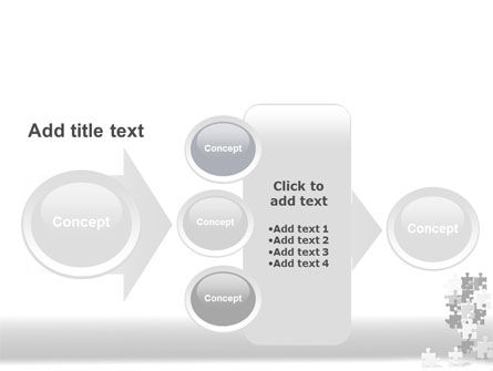 Tower Of Puzzle PowerPoint Template Slide 17