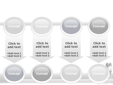 Tower Of Puzzle PowerPoint Template Slide 18