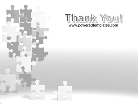 Tower Of Puzzle PowerPoint Template Slide 20