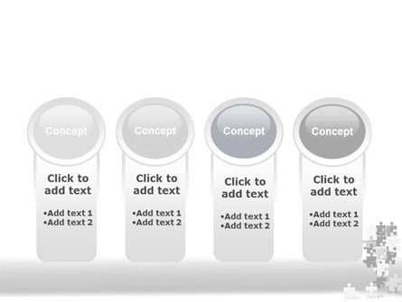 Tower Of Puzzle PowerPoint Template Slide 5