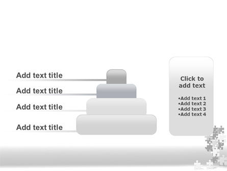 Tower Of Puzzle PowerPoint Template Slide 8