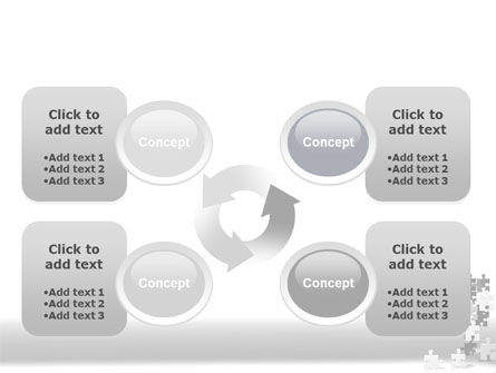 Tower Of Puzzle PowerPoint Template Slide 9