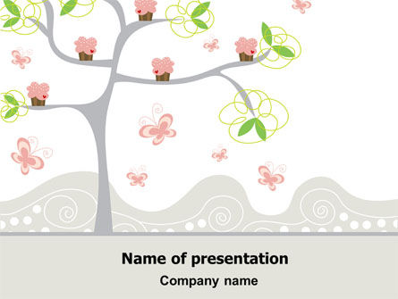 Education & Training: Spring Tree PowerPoint Template #07499