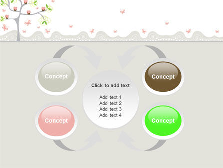 Spring Tree PowerPoint Template Slide 6