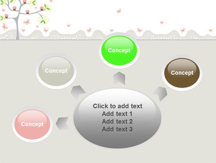 Spring Tree PowerPoint Template Slide 7