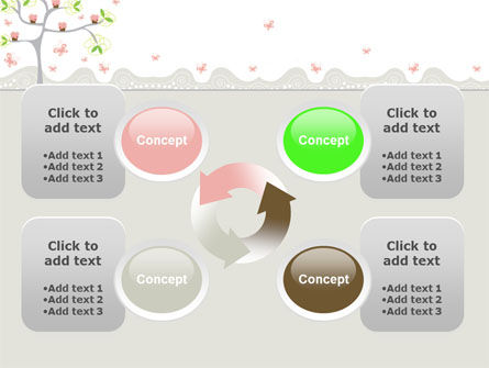 Spring Tree PowerPoint Template Slide 9
