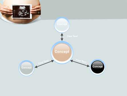 Ultrasound Portrait Of Baby PowerPoint Template Slide 14