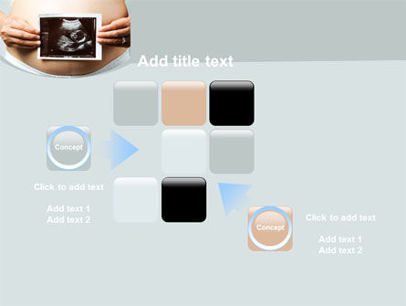 Ultrasound Portrait Of Baby PowerPoint Template Slide 16