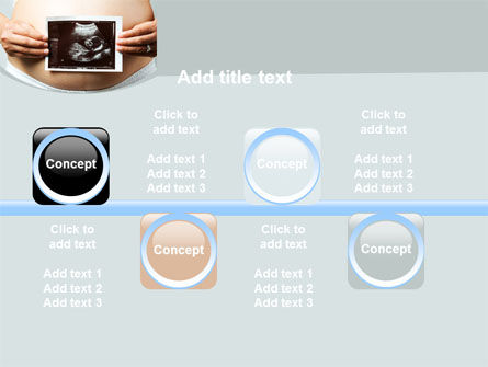 Ultrasound Portrait Of Baby PowerPoint Template Slide 19