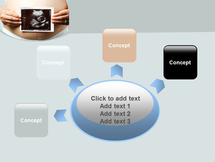 Ultrasound Portrait Of Baby PowerPoint Template Slide 7