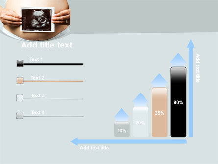 Ultrasound Portrait Of Baby PowerPoint Template Slide 8