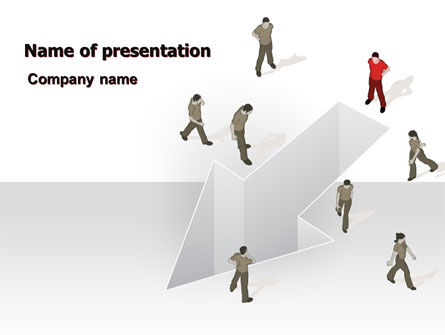 Consulting: Direction Choice PowerPoint Template #07502