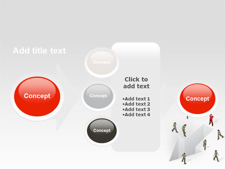 Direction Choice PowerPoint Template Slide 17