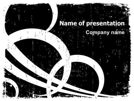 Abstract/Textures: Abstract Thought PowerPoint Template #07505