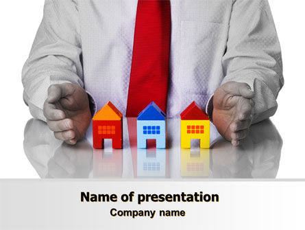 Real Estate: Real Estate Agent PowerPoint Template #07506