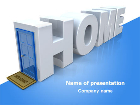 Real Estate Agency PowerPoint Template, 07508, Financial/Accounting — PoweredTemplate.com