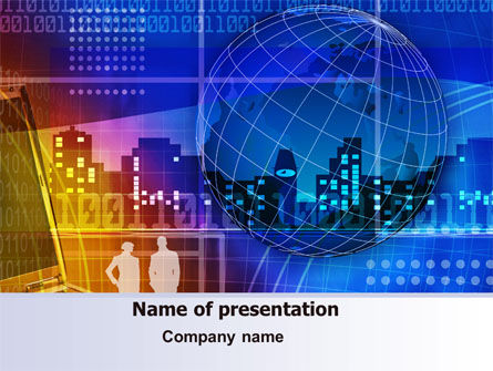Big City Lights PowerPoint Template