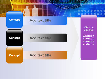 Big City Lights PowerPoint Template Slide 12