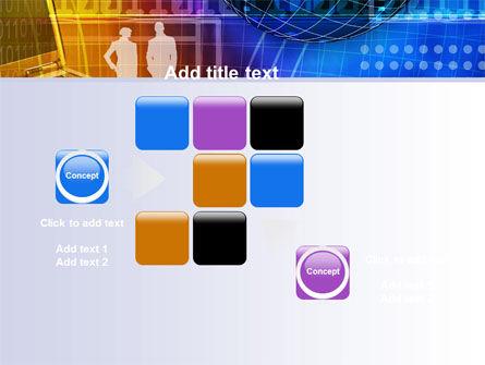 Big City Lights PowerPoint Template Slide 16
