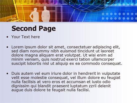 Big City Lights PowerPoint Template, Slide 2, 07511, Business — PoweredTemplate.com