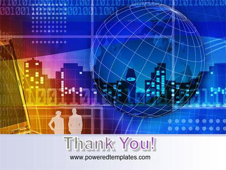 Big City Lights PowerPoint Template Slide 20