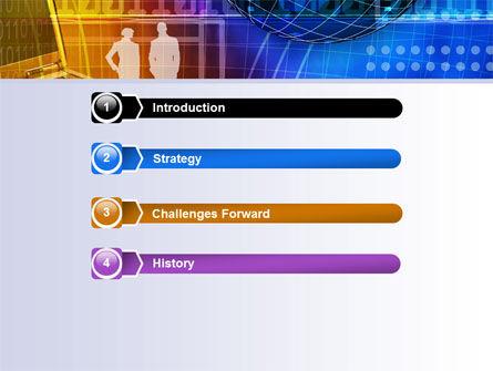 Big City Lights PowerPoint Template, Slide 3, 07511, Business — PoweredTemplate.com